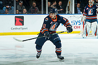 KELOWNA, BC - DECEMBER 27: Logan Stankoven #11 of the Kamloops Blazers skates against the Kelowna Rockets during first period at Prospera Place on December 27, 2019 in Kelowna, Canada. (Photo by Marissa Baecker/Shoot the Breeze)