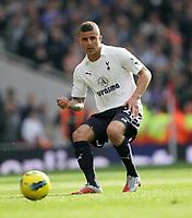 20120226: LONDON, UK - Barclays Premier League 2011/2012: Arsenal vs Tottenham.<br /> In photo: Tottenhams Kyle Walker in action.<br /> PHOTO: CITYFILES