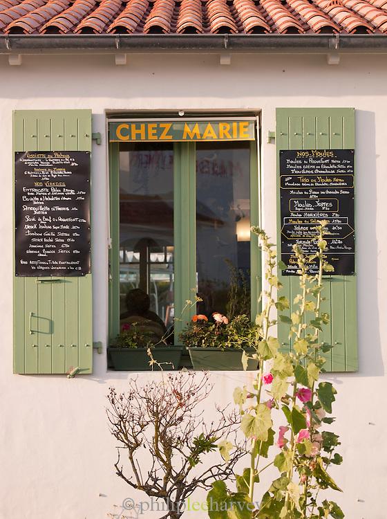 Restaurant in Le Gillieux, Île de Ré, France