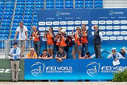 Team Netherlands<br /> World Equestrian Games - Tryon 2018<br /> © Hippo Foto - Dirk Caremans<br /> 18/09/2018