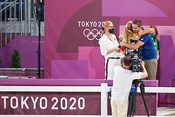 Kiss & Cry Team Portugal<br /> Olympic Games Tokyo 2021<br /> © Hippo Foto - Stefan Lafrentz<br /> 25/07/2021