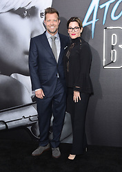 July 24, 2017 - Los Angeles, California, U.S. - David Leitch and Kelly McCormick arrives for the premiere of the film 'Atomic Blonde' at the Ace theater. (Credit Image: © Lisa O'Connor via ZUMA Wire)