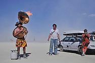 Burning Man.<br /> Black Rock City, Black Rock Desert, Nevada, USA.<br /> September, 2010.