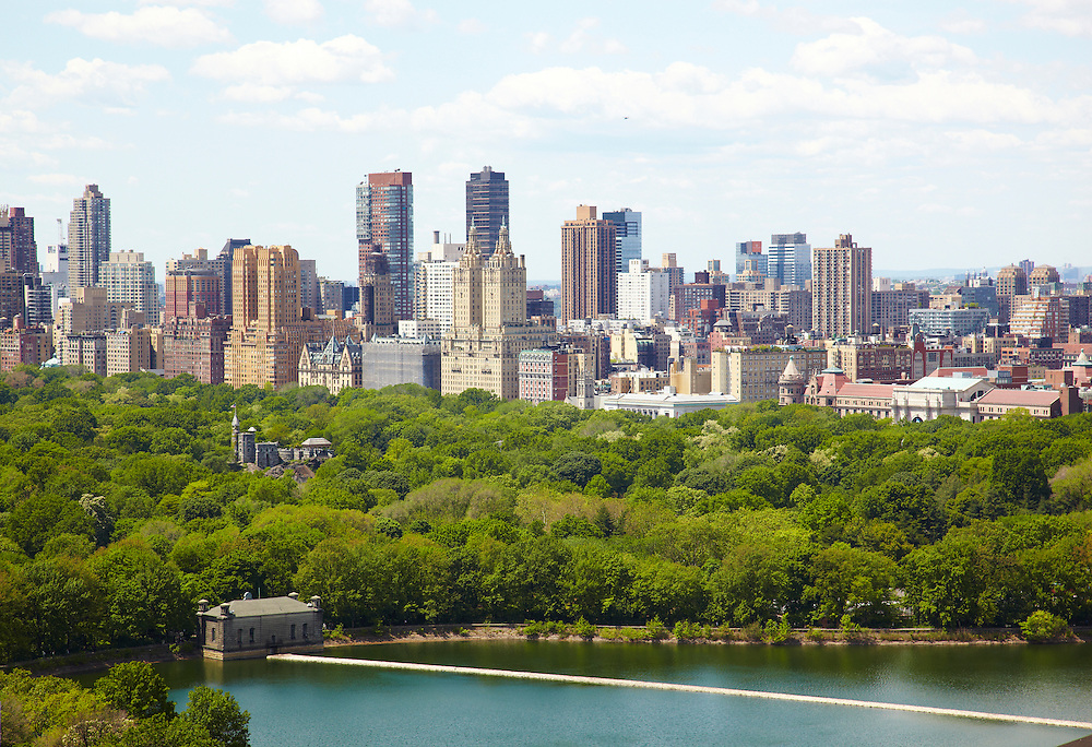 View of Central Park and Central Park Reservoir from 40 East 94th Street, 32nd floor