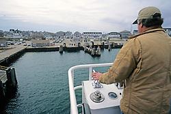 Captain Docking Ferry