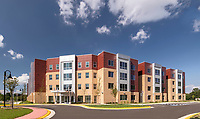 Architectural image of Capital Tech University in Laurel MD by Jeffrey Sauers of Commercial Photographics