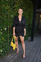 12 August 2021 - A dinner to celebrate the launch of Ghost Fragrances' alluring new scent , 'Orb of Night' held at The Mandrake Hotel, 20-21 Newman Street, London. <br /> Picture shows - Ferne McCann<br /> <br /> Photo by Dominic O'Neill/Desmond O'Neill Features Ltd.  +44(0)1306 731608  www.donfeatures.com