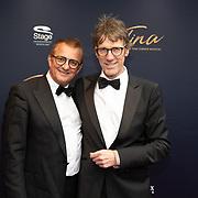 NLD/Utrecht/20200209 - Start inloop Tina Turner musical, Hans Schiffers en partner Rob Sol