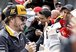June 7, 2018 - Montreal, Canada - Motorsports: FIA Formula One World Championship 2018, Grand Prix of Canada#14 Fernando Alonso (ESP, McLaren-Renault) (Credit Image: © Hoch Zwei via ZUMA Wire)
