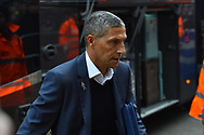 Brighton and Hove Albion manager Chris Hughton arriving at the Vitality Stadium before the The FA Cup 3rd round match between Bournemouth and Brighton and Hove Albion at the Vitality Stadium, Bournemouth, England on 5 January 2019.
