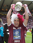 The William Hill Scottish FA Cup Final 2012 Hibernian Football Club v Heart Of Midlothian Football Club..19-05-12...Hearts Hero Rudi Skacel        during the William Hill Scottish FA Cup Final 2012 between (SPL) Scottish Premier League clubs Hibernian FC and Heart Of Midlothian FC. It's the first all Edinburgh Final since 1986 which Hearts won 3-1. Hearts bid to win the trophy since their last victory in 2006, and Hibs aim to win the Scottish Cup for the first time since 1902....At The Scottish National Stadium, Hampden Park, Glasgow...Picture Mark Davison/ ProLens PhotoAgency/ PLPA.Saturday 19th May 2012.