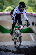 #281 (MCONIE Cole) NZL at Round 5 of the 2019 UCI BMX Supercross World Cup in Saint-Quentin-En-Yvelines, France