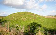 Prehistoric burial mounds, Seven Barrows, West Overton, Wiltshire, England, UK