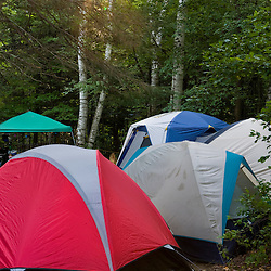 The campground at Umbagog Lake State Park, Cambridge, New Hampshire.