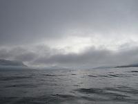 raining in Kvernesfjorden outside Kristiansund - regnvær i Kvernesfjorden utenfor Kristiansund