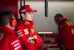 February 18, 2019 - Barcelona, Spain - LECLERC Charles (mco), Scuderia Ferrari SF90, portrait during Formula 1 winter tests from February 18 to 21, 2019 at Barcelona, Spain - Photo Motorsports: FIA Formula One World Championship 2019, Test in Barcelona, (Credit Image: © Hoch Zwei via ZUMA Wire)