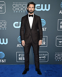 Julia Roberts at the 24th Annual Critics' Choice Awards held at Barker Hanger on January 13, 2019 in Santa Monica, CA. © Tammie Arroyo / AFF-USA.COM. 13 Jan 2019 Pictured: Milo Ventimiglia. Photo credit: MEGA TheMegaAgency.com +1 888 505 6342