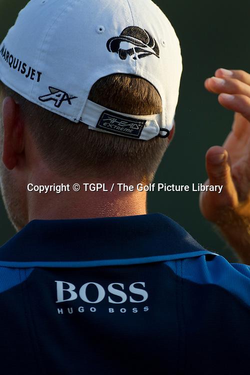 Henrik STENSON (SWE) during first round DP World Tour Championship 2013,Jemeirah Golf Estates, Dubai,UAE.