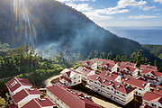 Bellevue Chopin, a new hamlet built by China, in the mountains