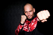 MMA: GMC 18, Pressetraining, Hamburg, 11.01.2019<br /> Flying Uwe vor seiner MMA-Premiere am 2. Februar in der Hamburger Edel Optics Arena<br /> © Torsten Helmke