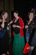 """Erir Morris, Jasmine guinness and Cynnie Rainey. Vanity Fair magazine hosts the """"Diamonds"""" Private View and Launch Party at the Natural History Museum. July 6  London. ONE TIME USE ONLY - DO NOT ARCHIVE  © Copyright Photograph by Dafydd Jones 66 Stockwell Park Rd. London SW9 0DA Tel 020 7733 0108 www.dafjones.com"""