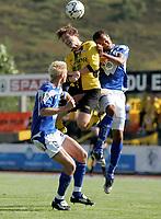 Fotball<br /> 23. August 2008<br /> Adecco ligaen<br /> Hødd  - start <br /> Fredrik klock - hødd<br /> Geir fevang - start<br /> Kyle veris - hødd<br /> <br /> <br /> Foto: Richard Brevik , Digitalsport