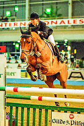 , Hannover - Europahallen Reitturnier 31.01. - 02.02.1997, Anthea 12 - Rosenberg, Marion
