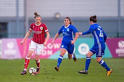 Yana Daniels of Bristol City Women - Mandatory by-line: Paul Knight/JMP - 28/03/2018 - FOOTBALL - Stoke Gifford Stadium - Bristol, England - Bristol City Women v Birmingham City Ladies - FA Women's Super League