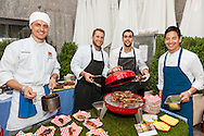 Cheftopia, the 30th annual chefs' tribute to Citymeals-on-Wheels at Rockefeller Center