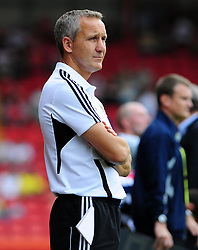 Bristol City Manager, Keith Milen - Photo mandatory by-line: Joseph Meredith / JMPUK - 30/07/2011 - SPORT - FOOTBALL - Championship - Bristol City v West Bromwich Albion - Ashton Gate Stadium, Bristol, England