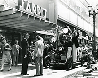 1936 Filming on Hollywood Blvd.