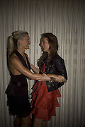 Caprice and Julie Brangstrup,  The Eve Appeal Dinner, Nobu London,  Dinner in aid of Eve Appeal, Gynaecology Cancer Research Fund, 3 September 2007. -DO NOT ARCHIVE-© Copyright Photograph by Dafydd Jones. 248 Clapham Rd. London SW9 0PZ. Tel 0207 820 0771. www.dafjones.com.