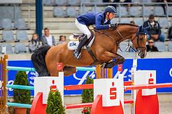 DEUSSER Daniel (GER), Casallvano<br /> Allianz-Preis<br /> CSI3* - Aachen Grand Prix, Springprüfung mit Stechen, 1.50m<br /> Grosse Tour<br /> Aachen - Jumping International 2020<br /> 06. September 2020<br /> © www.sportfotos-lafrentz.de/Stefan Lafrentz