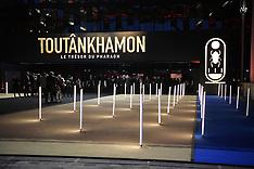 Tutankhamun Treasures Of The Golden Pharaoh Preview - Paris - 23 Mar 2019