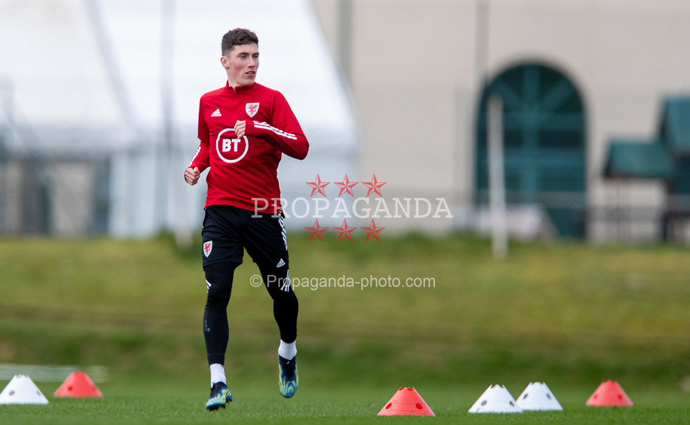 CARDIFF, WALES - Monday, March 29, 2021: Wales' Harry Wilson during a training session at the Vale Resort ahead of the FIFA World Cup Qatar 2022 Qualifying Group E game against the Czech Republic. (Pic by David Rawcliffe/Propaganda)