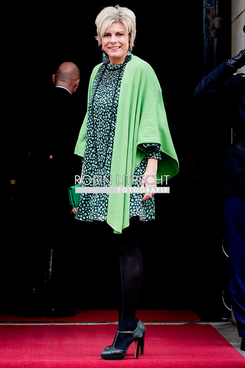 6-12-2017 AMSTERDAM - King Willem-Alexander, Queen Maxima, Princess Beatrix, Prince Constantijn, Princess Laurentien and Princess Mabel are present at the presentation of the Grand Prince Claus Award 2017 to the Brazilian filmmaker and rights activist Vincent Carelli and the Chinese designer new media and environmental activist Ma Jun. ROBIN UTRECHT<br /> <br /> <br /> 6-12-2017 AMSTERDAM - Koning Willem-Alexander, Koningin Maxima,Prinses Beatrix, Prins Constantijn, Prinses Laurentien en Prinses Mabel zijn aanwezig bij de uitreiking van de Grote Prins Claus Prijs 2017 aan de Braziliaanse filmmaker en rechtenactivist Vincent Carelli en de Chinese ontwerper nieuwe media en milieuactivist Ma Jun.ROBIN UTRECHT