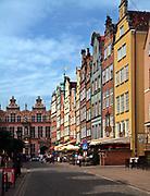 Gdańsk; 2008-06-22. Stare Miasto w Gdańsku - ulica Piwna.