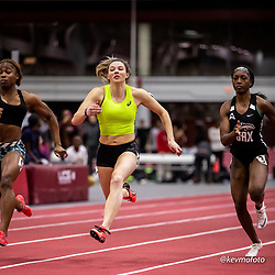 Harvard University<br /> Crimson Elite Indoor track & field meet<br /> women 60m, Asics, , asics,