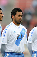 Carlos Ruiz, of Guatemala, on Sunday, February 19th, 2005 at Pizza Hut Park in Frisco, Texas. The United States Men's National Team defeated Guatemala 4-0 in a men's international friendly.