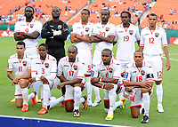 Fotball<br /> 12.07.2013<br /> Foto: imago/Digitalsport<br /> NORWAY ONLY<br /> <br /> July 12, 2013: Trinidad s Team poses for the tea, picture prior to the Trinidad and Tobago v Haiti in the CONCACAF Gold Cup Game at Sun Life Stadium in Miami Gardens, Florida.<br /> Lagbilde Trinidad og Tobago