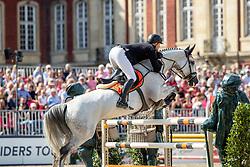 WINKELMANN Rupert Carl (GER), DEEP BLUE BRIDGE S<br /> Münster - Turnier der Sieger 2019<br /> Grosser Preis von Münster <br /> BEMER Riders Tour Etappenwertung<br /> CSI4* - Int. Jumping competition over 2 rounds (1.60 m)<br /> 04. August 2019<br /> © www.sportfotos-lafrentz.de/Stefan Lafrentz