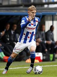 Martin Odegaard of sc Heerenveen during the Dutch Eredivisie match between sc Heerenveen and Ajax Amsterdam at Abe Lenstra Stadium on October 01, 2017 in Heerenveen, The Netherlands