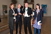 FIONA RAE; GILLIAN WEARING; MICHAEL LANDY; BILL WOODROW; , Royal Academy of Arts Annual dinner. Royal Academy. Piccadilly. London. 1 June <br /> <br />  , -DO NOT ARCHIVE-© Copyright Photograph by Dafydd Jones. 248 Clapham Rd. London SW9 0PZ. Tel 0207 820 0771. www.dafjones.com.