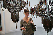 Jodie Carey, Anticipation.- Produced by Flora Fairbairn. Curated by Kay Saatchi and Catriona Warren. 111 Great Titchfield St. London W1. 23 May 2007.  -DO NOT ARCHIVE-© Copyright Photograph by Dafydd Jones. 248 Clapham Rd. London SW9 0PZ. Tel 0207 820 0771. www.dafjones.com.