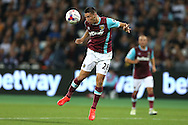 Jonathan Calleri of West Ham United in action. . EFL Cup, 3rd round match, West Ham Utd v Accrington Stanley at the London Stadium, Queen Elizabeth Olympic Park in London on Wednesday 21st September 2016.<br /> pic by John Patrick Fletcher, Andrew Orchard sports photography.