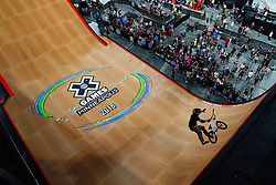 July 20, 2018 - Minneapolis, MN, USA - Morgan Wade competed in The Real Cost BMX Big Air Final Friday. ] ANTHONY SOUFFLE • anthony.souffle@startribune.com ....Athletes competed in the annual XGames Friday, July 20, 2018 at U.S. Bank Stadium in Minneapolis. (Credit Image: © Anthony Souffle/Minneapolis Star Tribune via ZUMA Wire)