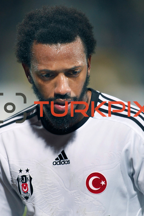 Besiktas's Manuel Fernandes during their Turkish Superleague soccer match Ankaragucu between Besiktas at the 19 Mayis stadium in Ankara Turkey on Sunday 08 January 2012. Photo by TURKPIX