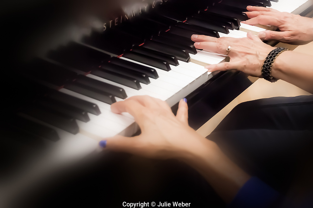 """Helping Hand <br /> Piano Hands - Hands on Music series<br /> <br /> For IMAGE LICENSING just click on the """"add to cart"""" button above.<br /> <br /> Fine Art archival paper prints for this image as well as canvas, metal and acrylic prints available here:https://2-julie-weber.pixels.com/featured/helping-hand-julie-weber.html"""