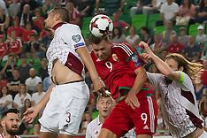 Hungary v Latvia - 31 Aug 2017