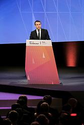 June 15, 2017 - Paris, France - EMMANUEL MACRON - PRESIDENT EMMANUEL MACRON VISITE LE SALON VIVATECH A PARIS, FRANCE, LE 15/06/2017. (Credit Image: © Visual via ZUMA Press)
